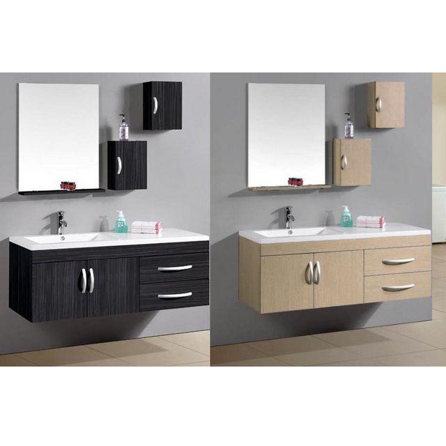 Mobile da bagno moderno con lavabo decentrato a sinistra sb for Arredo bagno mercatone uno