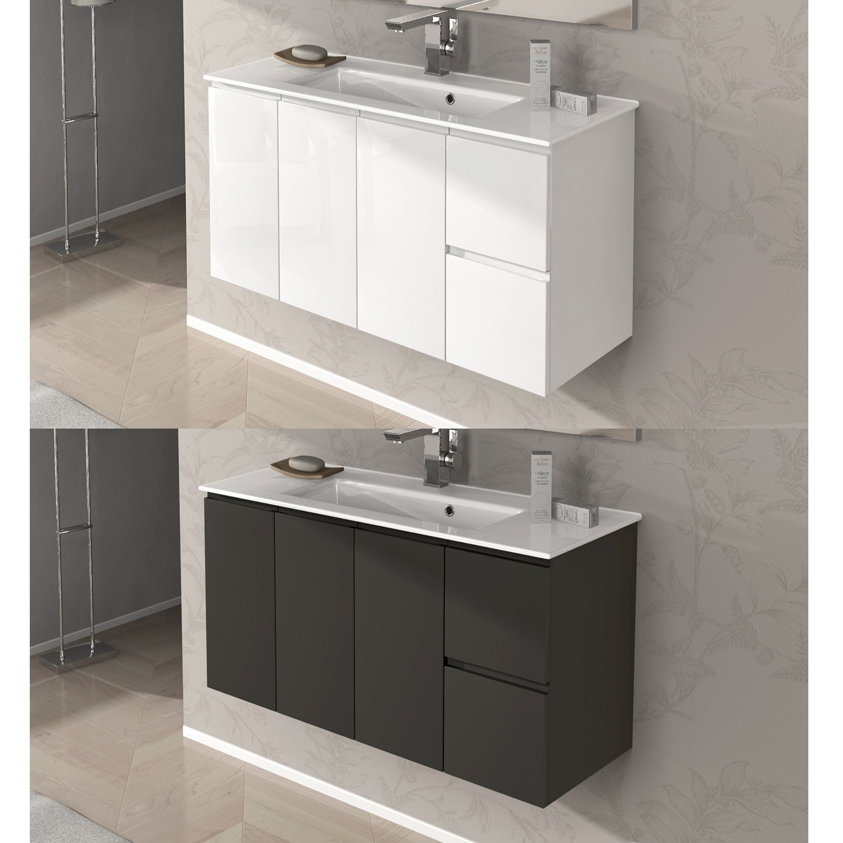 Mobile Bagno New York 84 45 Disp In 4 Colori Anche Bianco Pictures to ...