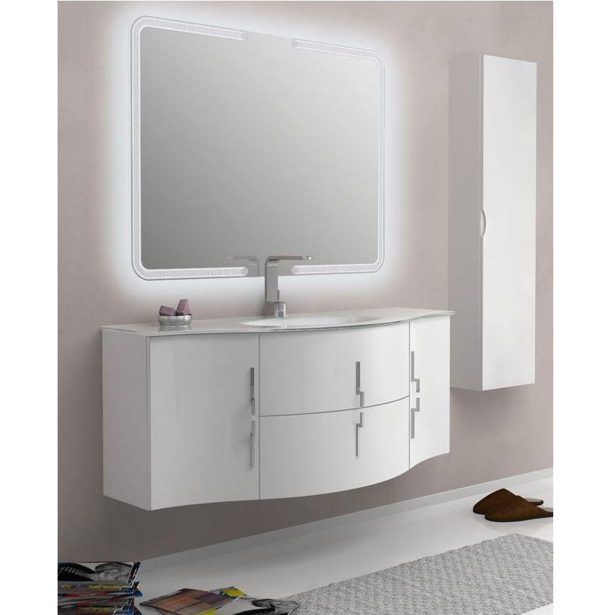 arredo bagno sting 138 cm in 4 colorazioni mobile