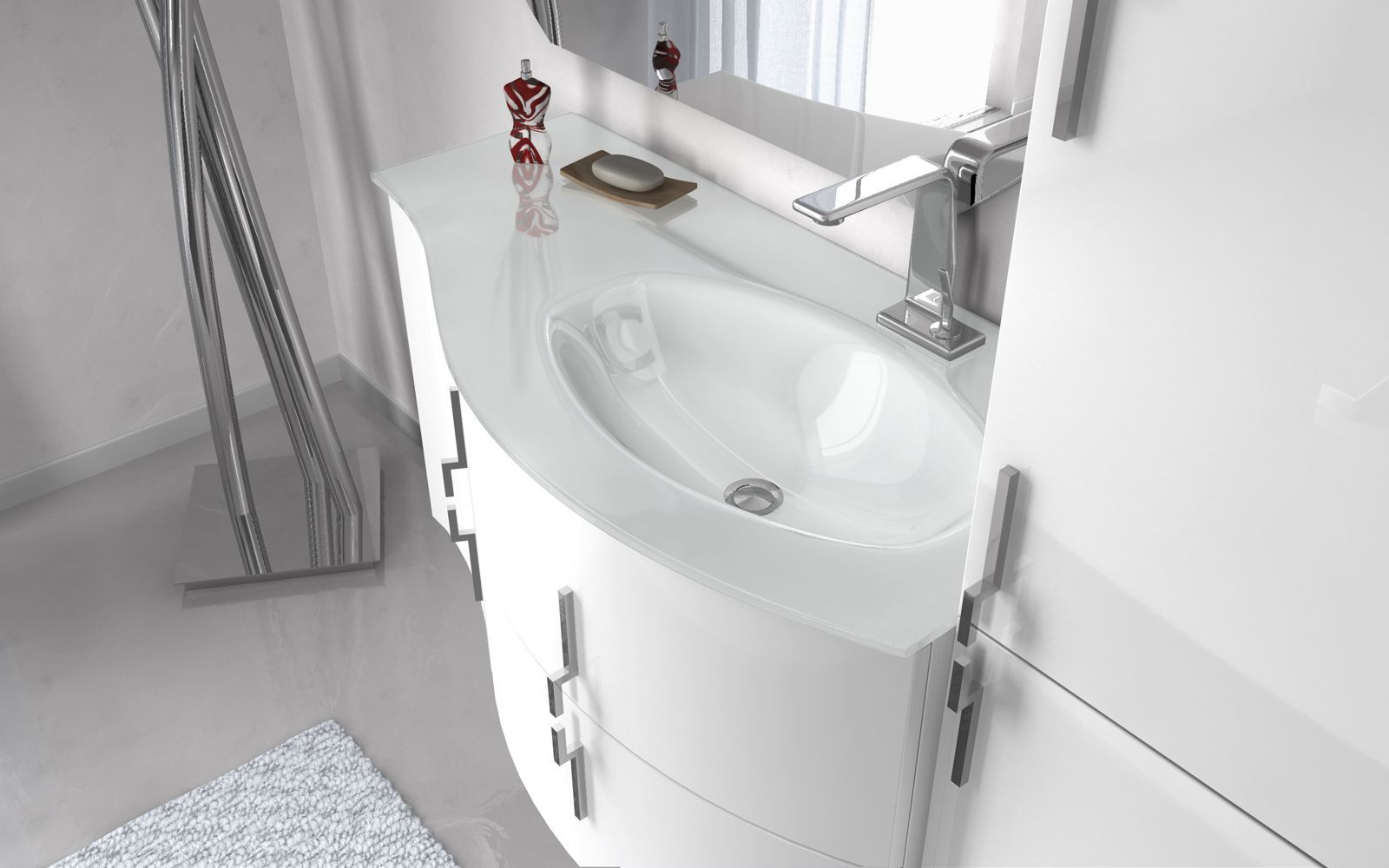 Mobile bagno moderno sting arredo bagno moderno bh