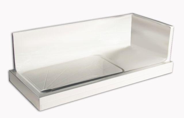 Box doccia sostituisci vasca 160x70 170x70 con o senza seduta versione dx e sx s ebay - Box doccia senza piatto ...