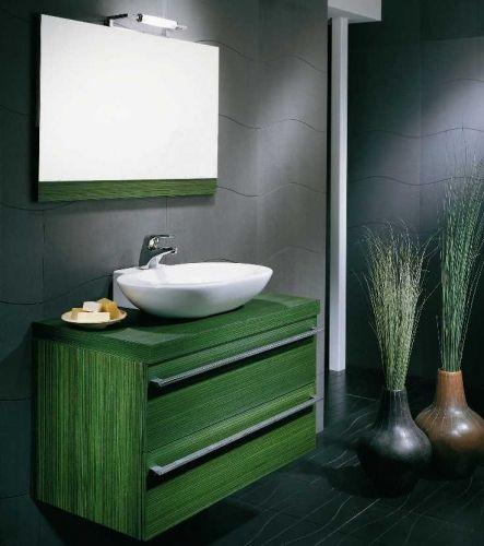 Arredobagno clo cm 90 disponibile in 23 colori bianco bb - Arredo bagno verde ...