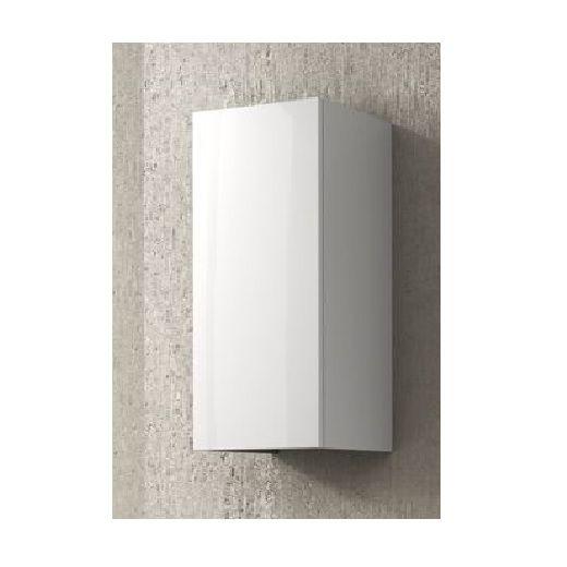 Pensile da bagno singolo b3 colore bianco lucido o tabacco bh - Pensile bagno laccato bianco ...