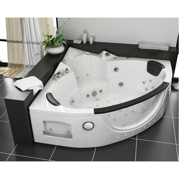 Vasca idromassaggio 152x152cm a 12 idrogetti per 2 persone pr for Smalto per vasche da bagno