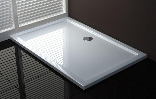 Piatto doccia acrilico design sottile e moderno go