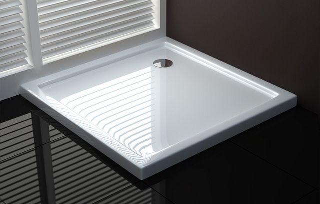 Piatto doccia ultra sottile in acrilico in diverse misure e forme