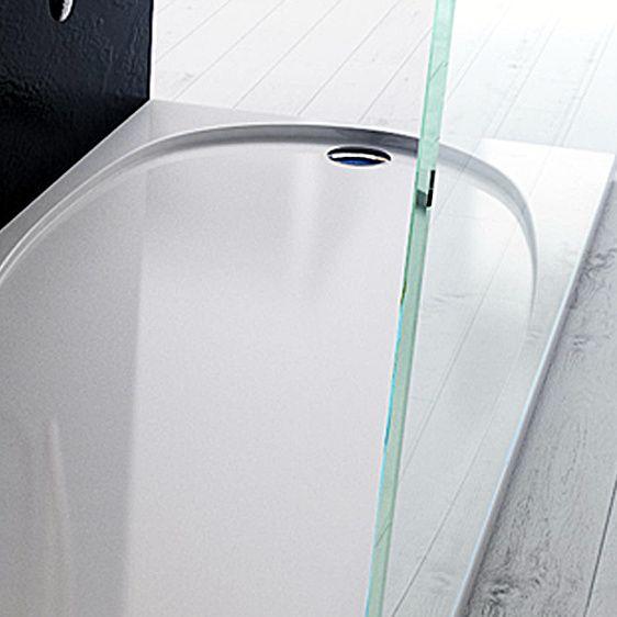 Piatto doccia In acrilico ABS bianco effetto lucido modeno in varie ...