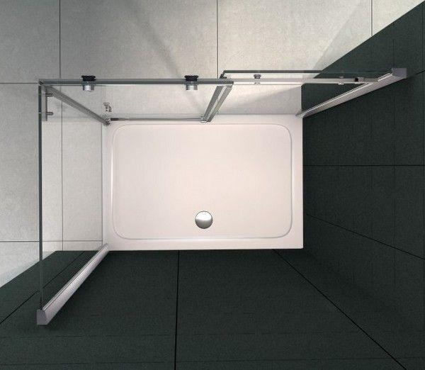 Piatto doccia in acrilico rinforzato spessore 5 cm for Piatto doccia misure