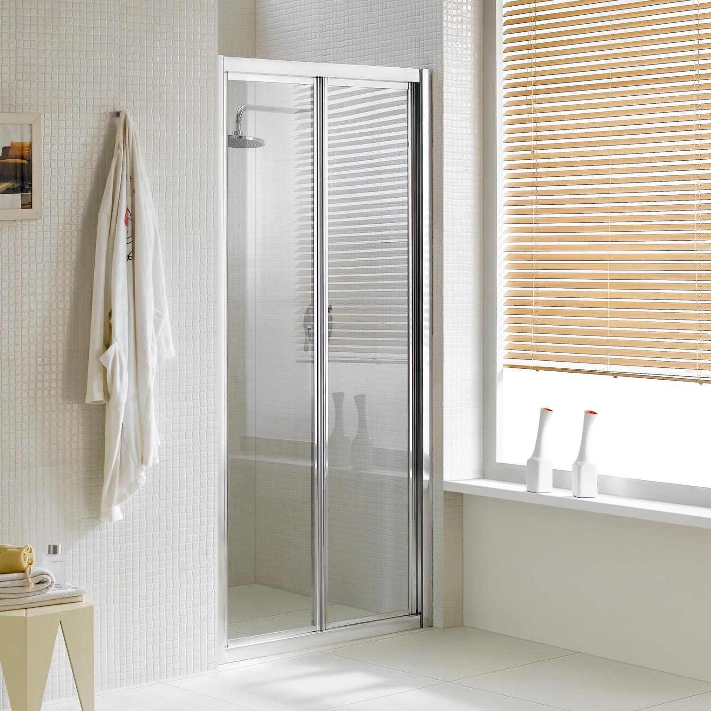 porta doccia a soffietto apertura in entrambi i lati a