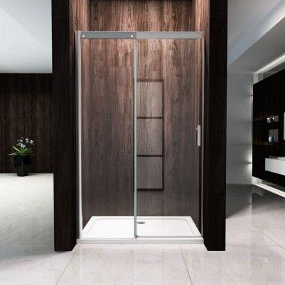 Porta doccia anta scorrevole cristallo 8mm h195 chiusura - Porta scorrevole cristallo ...