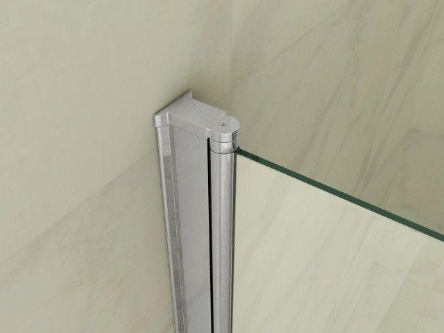 Box doccia angolare vetro trasparente opaco bagno italia pa