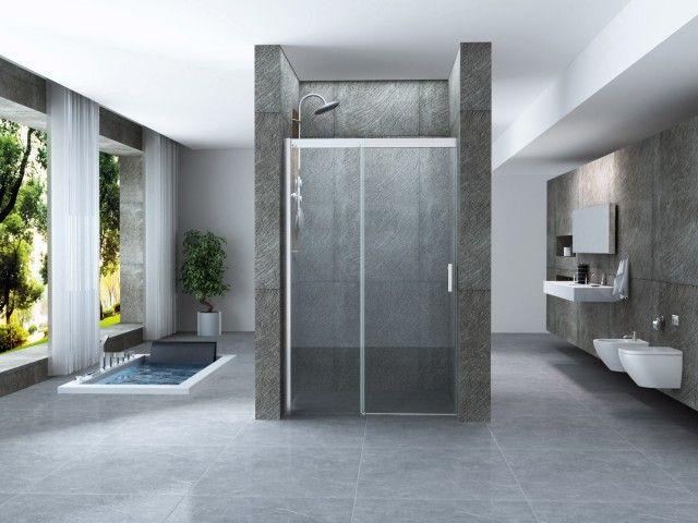 Porte doccia porta doccia scorrevole per nicchia - Chiusura doccia scorrevole ...