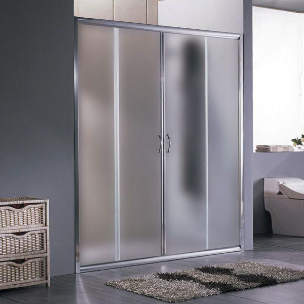 Porta scorrevole per nicchia anta scorrevole da 170 o 180 - Porta in cristallo scorrevole ...