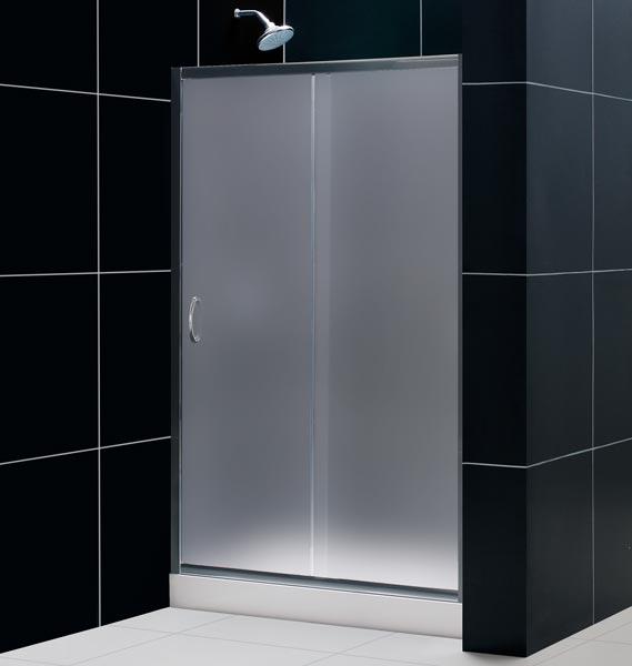 Porta per doccia a nicchia anta scorrevole in vetro pa - Porta per doccia ...