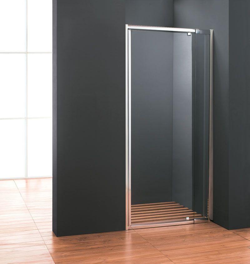 Porta per doccia a nicchia Anta Battente cristallo trasparente pa