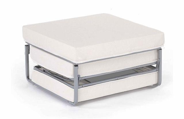 Pouf letto venezia singolo con materasso xx in microfibra for Soggiorno a venezia economico