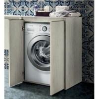 mobile bagno copri lavatrice in 30 colori porta lavatrice ...