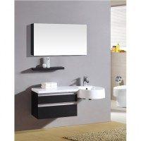 Arredo bagno sting 138 cm in 4 colorazioni mobile for Bagno doppio lavabo offerta
