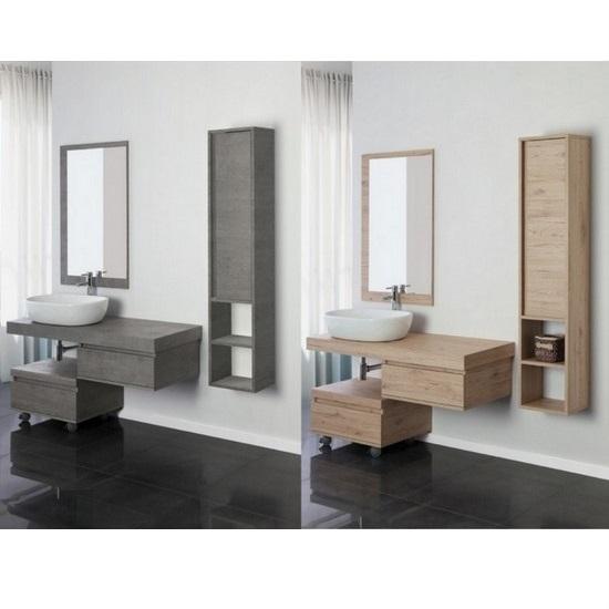 Mobili bagno da 101 a 220 cm oltre 40 modelli - Mobile bagno sfalsato ...