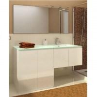 Mobile bagno con porta o copri lavatrice VIP3 da 160 cm bianco ...