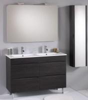 Mobili bagno con doppio lavabo tante misure diverse - Self arredo bagno ...