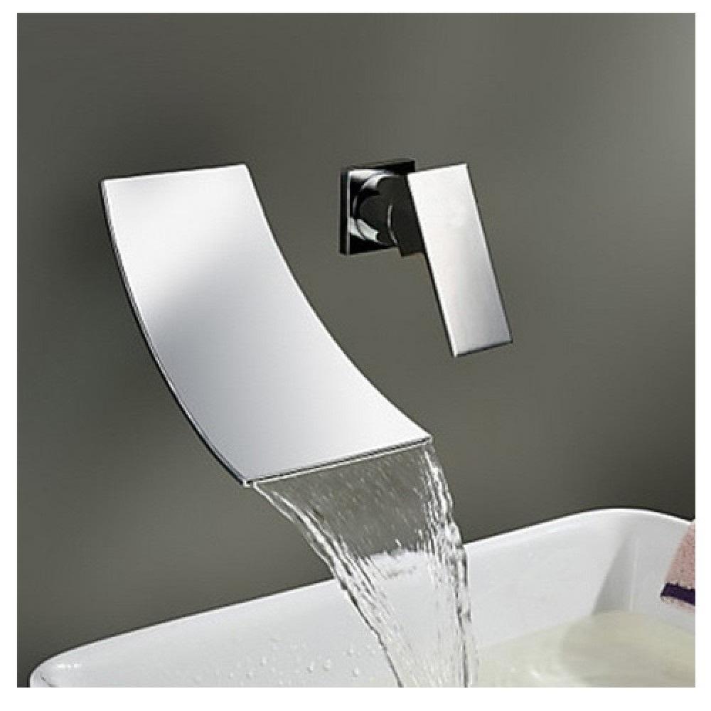 Rubinetto miscelatore per lavabo effetto cascata RB1000