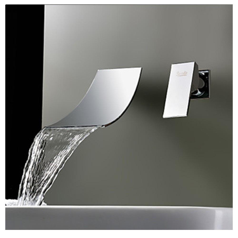 Rubinetto miscelatore per lavabo effetto cascata rb1000 - Rubinetteria a cascata bagno ...