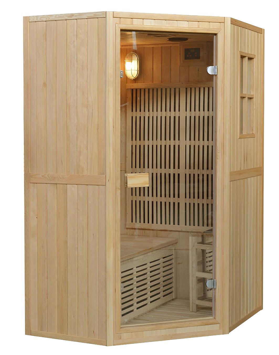 Sauna Combinata per due persone sia infrarossi ch Finlandese