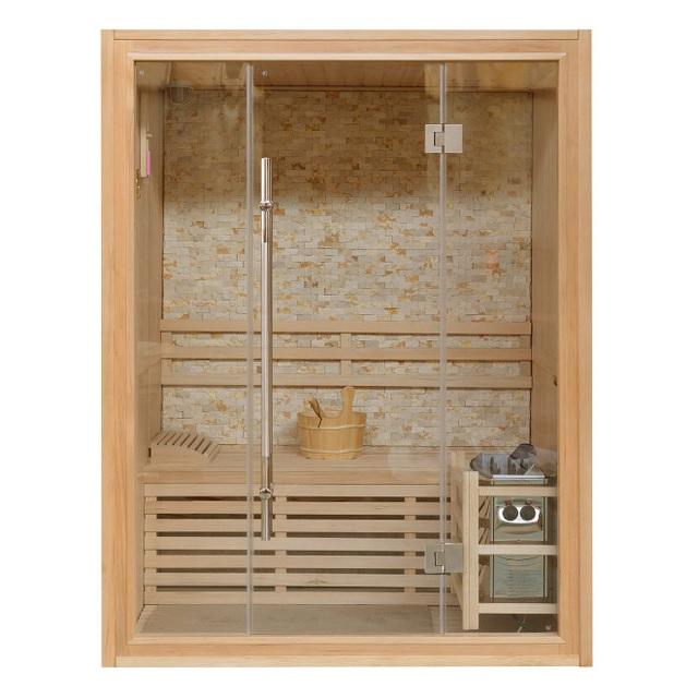 Salotto Open Space Con Parquet E Divani Bianchi Interior Design ...