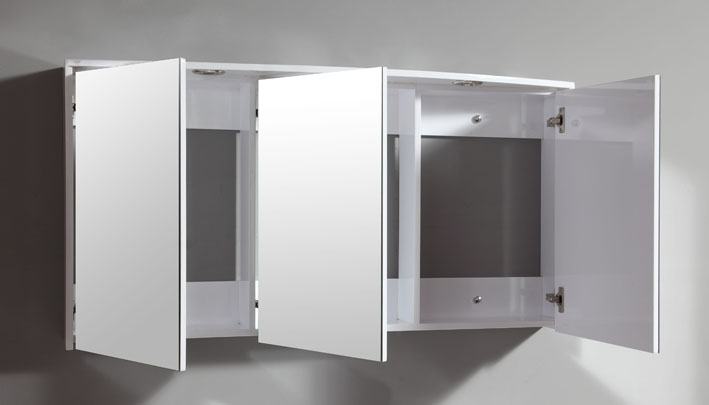 mobile bagno moderno venere, arredo bagno con doppio lavabo pd - Arredo Bagno Cantu
