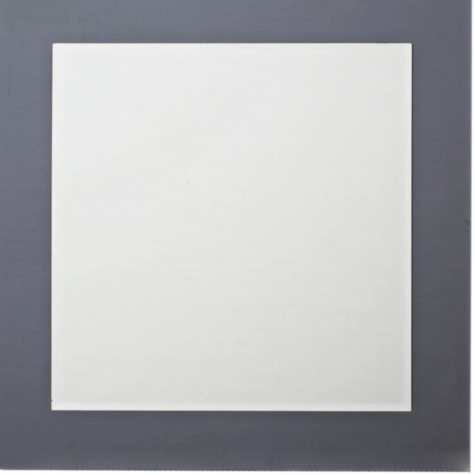 specchio da bagno quadrato 70x70 universale senza bordo in