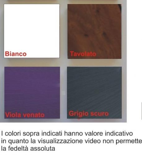 arredo bagno moderno sospeso florida, vari colori bh - Arredo Bagno Formia