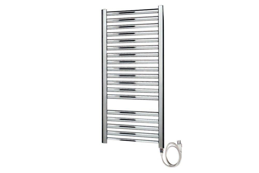Termoarredo radiatore elettrico bianco o cromato con o senza