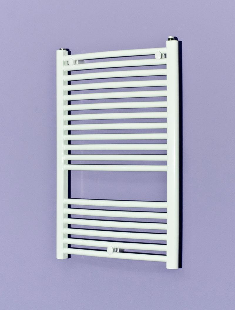 Termoarredo radiatore curvo bianco 80x50 120x50 150x50 180x50 - Termosifone bagno ...