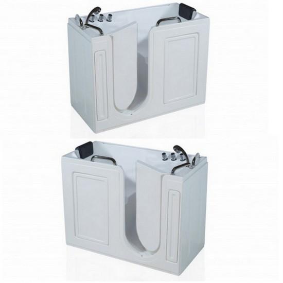 Vasca da bagno cm 133x67x101 sportello con apertura verso l 39 interno - Vasca da bagno con sportello prezzo ...