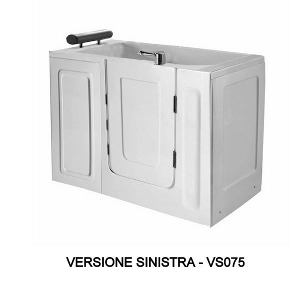 Vasca da bagno sportello laterale 136x78 o 100x70 vs075 vs076 - Vasca da bagno 100x70 ...