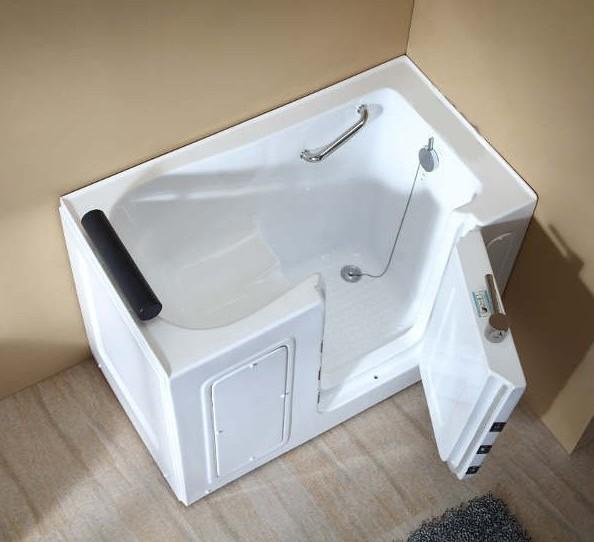 Vasca da bagno sportello laterale 136x78 o 100x70 vs075 vs076 - Vasca bagno con sportello ...