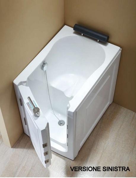Vasca da bagno sportello laterale 136x78 o 100x70 VS075 VS076