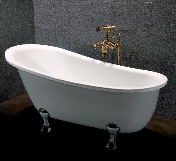Vasca da bagno centro stanza 165x80 o 170x80 freestanding - Misure vasca bagno ...