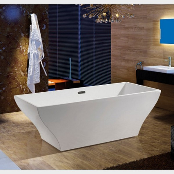 Vasca da bagno centro stanza 165x80 o 170x80 freestanding VS066 VS067