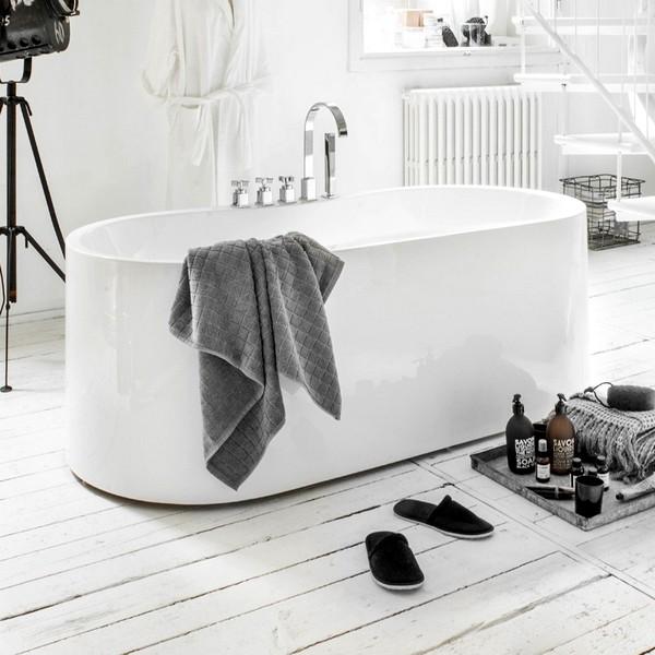 Vasca da bagno freestanding vs068 per centro stanza for Vasca da bagno freestanding