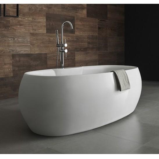 Vasca per centro stanza disponibile in due modelli freestanding for Vasca da bagno moderna