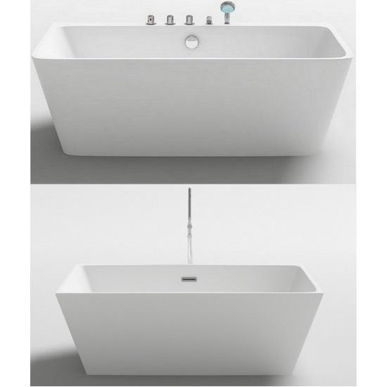 Vasca da bagno freestanding 170x80 o 160x80 stile moderno vs088 for Vasca da bagno freestanding