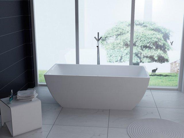Vasca Da Bagno 100 80 : Vasca da bagno rettangolare o freestanding stile