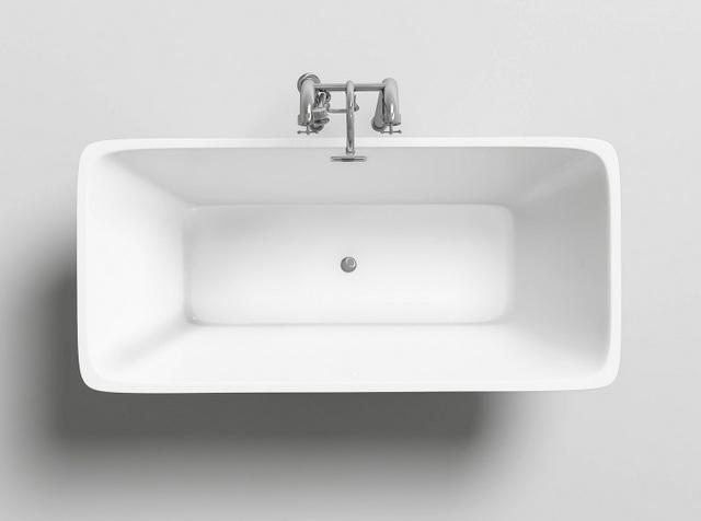 Vasca da bagno rettangolare 170x80 o 179x80 freestanding - Vasca da bagno freestanding ...