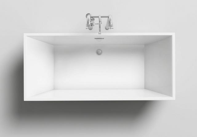 Vasche Da Bagno Rettangolari Moderne : Vasca da bagno rettangolare 170x80 o 179x80 freestanding stile