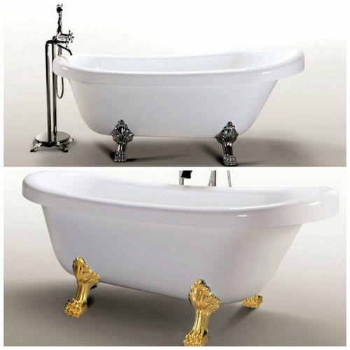 Vasca da bagno tradizionale misure design casa creativa - Misure vasche da bagno piccole ...