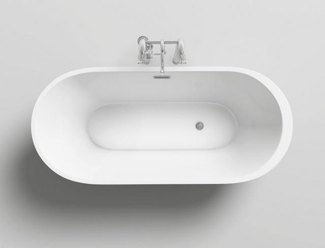 Vasche Da Bagno Moderne Economiche : Vasca da bagno ovale freestanding o stile moderno