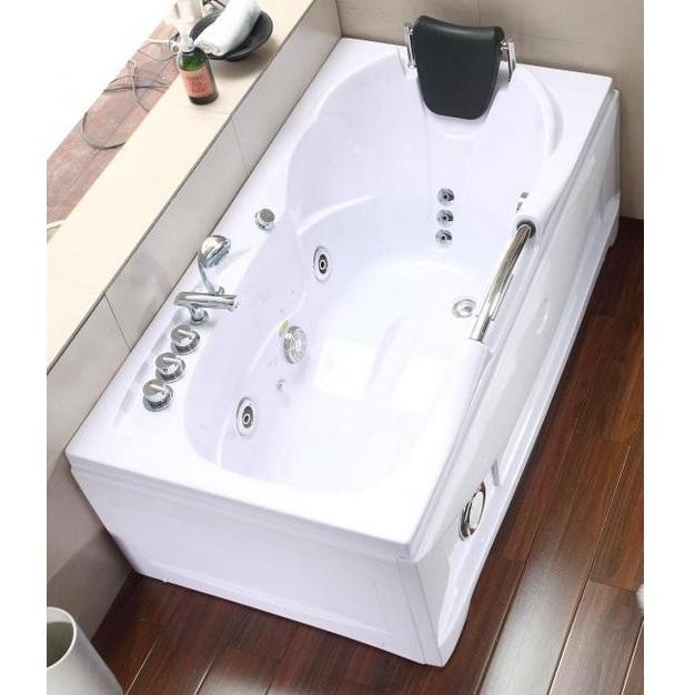 Vasca idromassaggio da bagno 153x85 con 9 getti pr