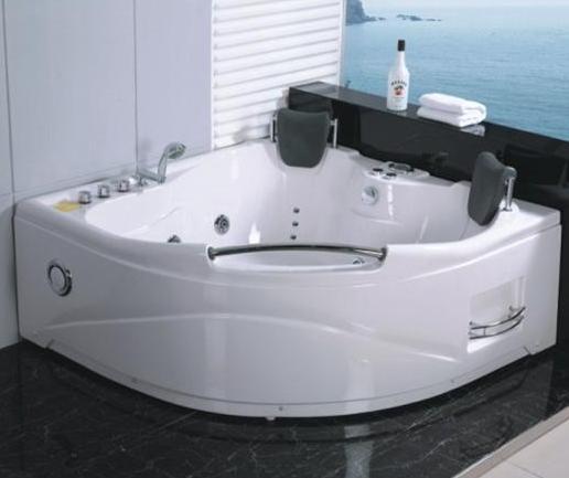Vasca idromassaggio 150x150 doppia 2 posti 13 getti con miscelatore da bagno per ebay - Vasca da bagno idromassaggio prezzi ...